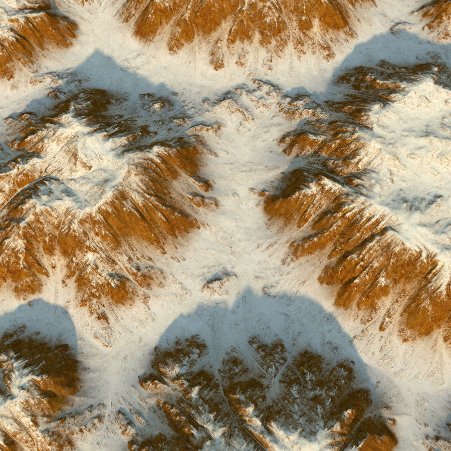 Meseta montañas p1 royalty-free modelo 3d - Preview no. 6