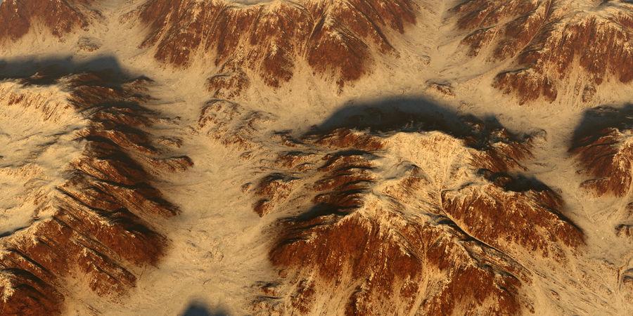 Meseta montañas p1 royalty-free modelo 3d - Preview no. 3