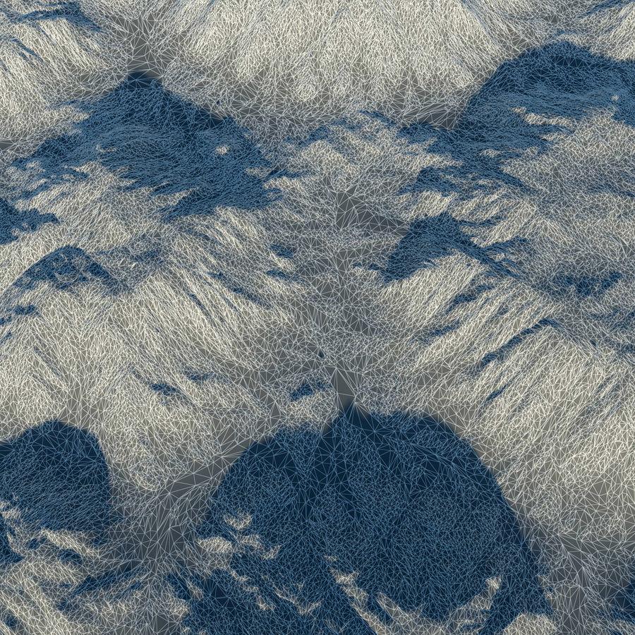 Meseta montañas p1 royalty-free modelo 3d - Preview no. 11