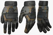 장갑 군사 전투 군인 갑옷 공상 과학 판타지 3d 인간의 3d model