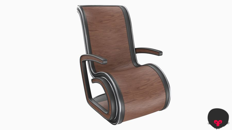 Chair_001 royalty-free 3d model - Preview no. 11