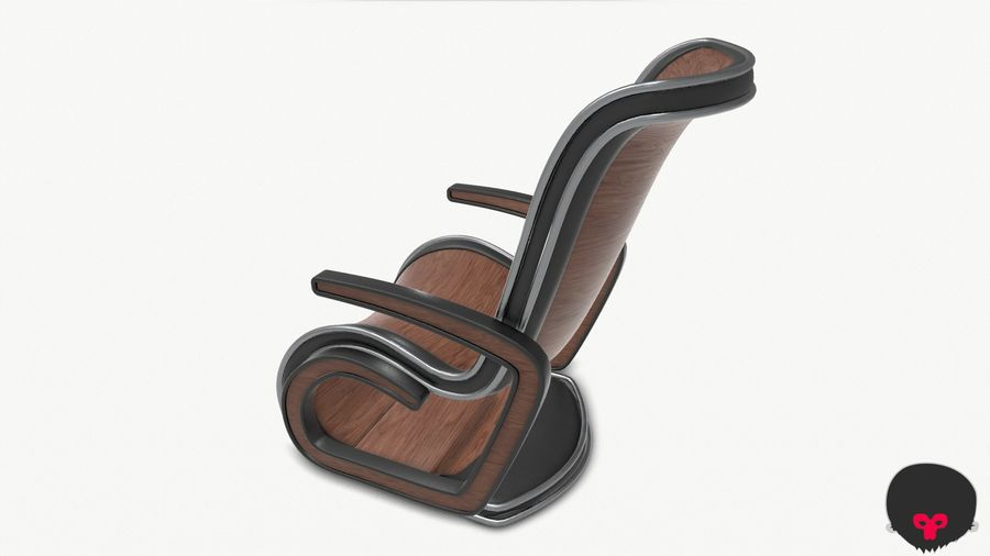 Chair_001 royalty-free 3d model - Preview no. 14