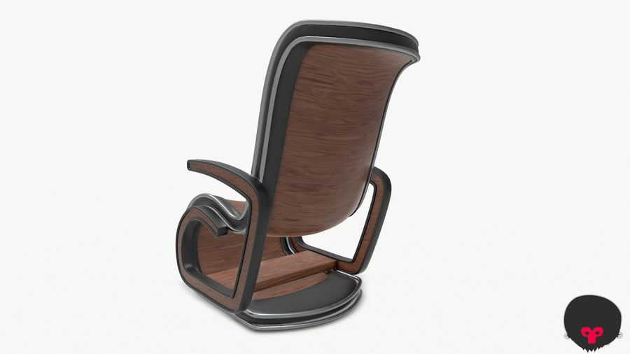 Chair_001 royalty-free 3d model - Preview no. 15