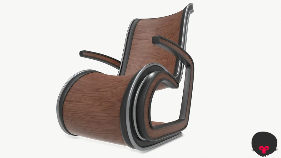 Chair_001 royalty-free 3d model - Preview no. 16