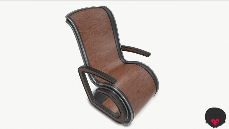 Chair_001 royalty-free 3d model - Preview no. 18
