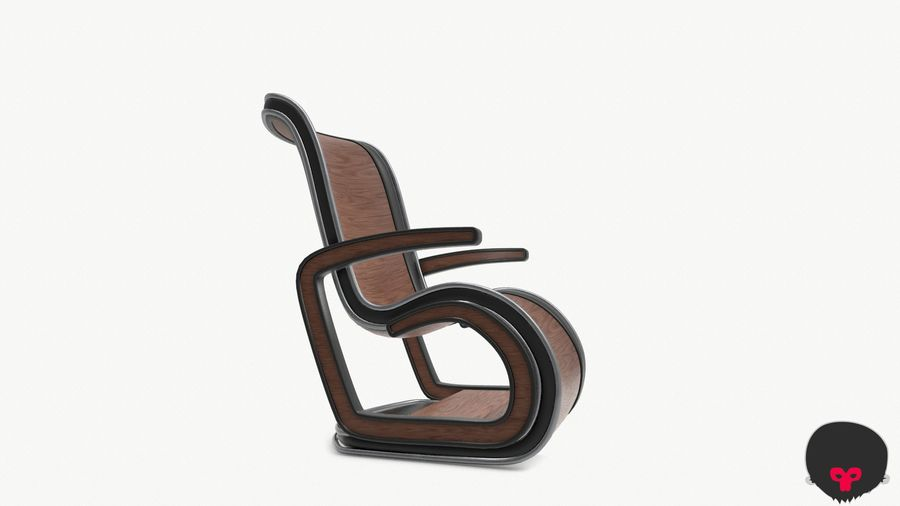 Chair_001 royalty-free 3d model - Preview no. 19