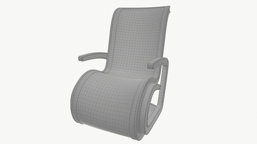 Chair_001 royalty-free 3d model - Preview no. 21