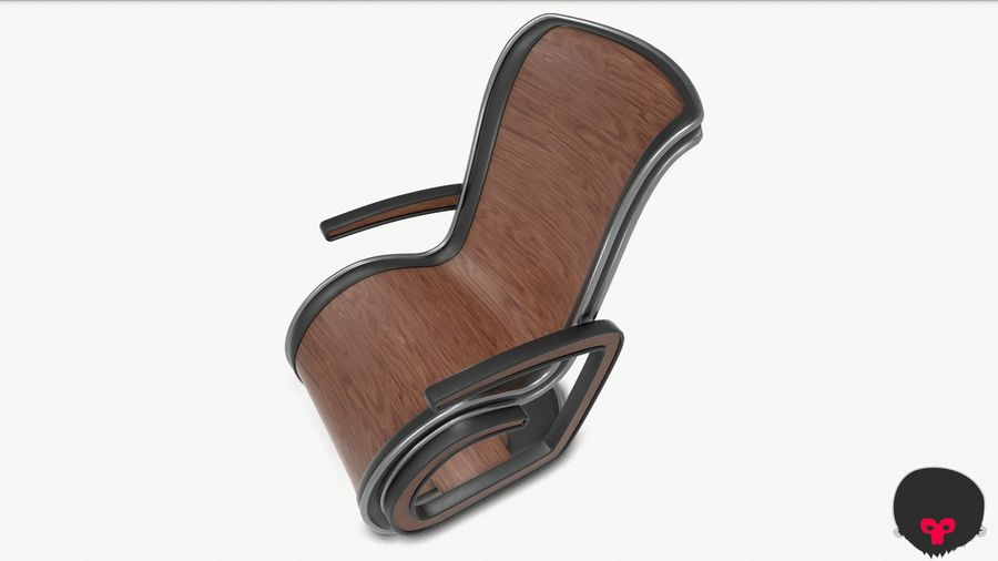 Chair_001 royalty-free 3d model - Preview no. 17