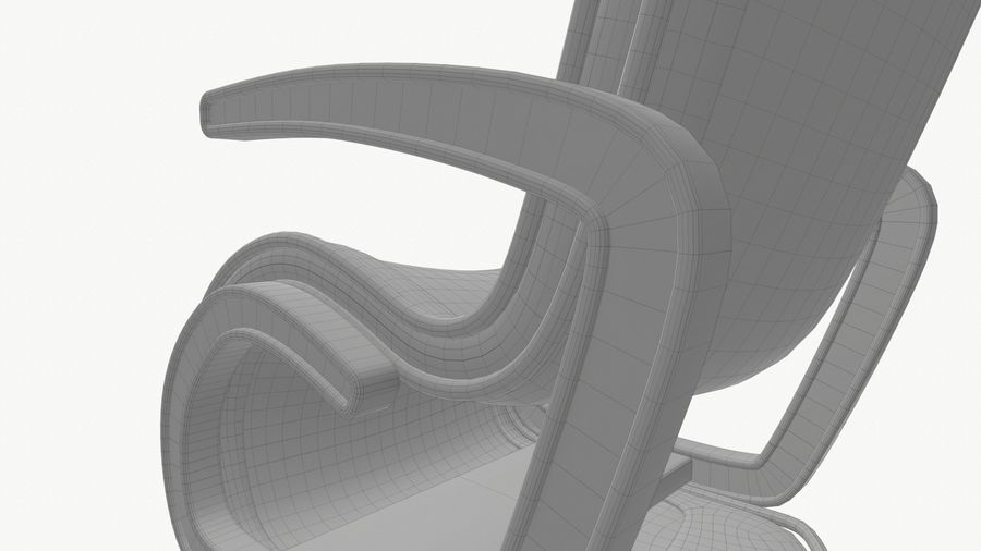 Chair_001 royalty-free 3d model - Preview no. 24