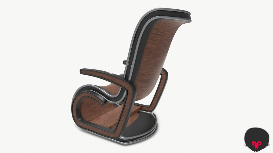 Chair_001 royalty-free 3d model - Preview no. 13