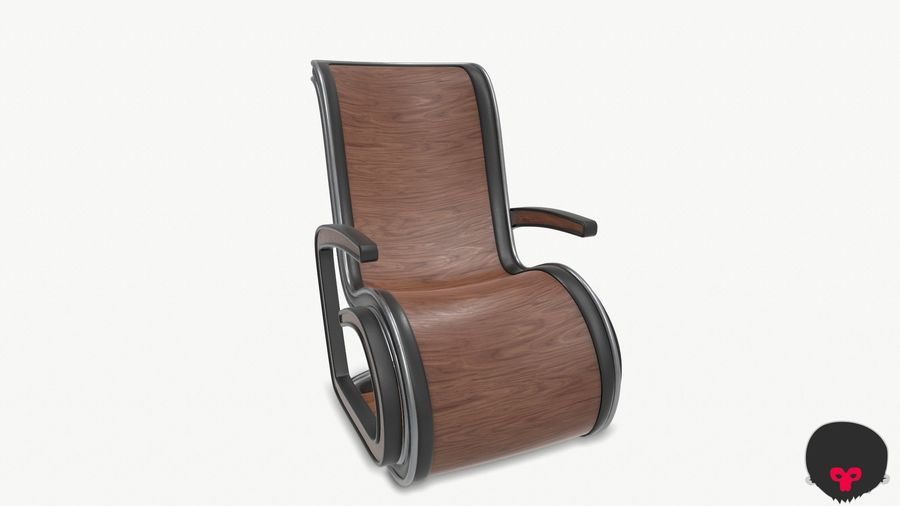 Chair_001 royalty-free 3d model - Preview no. 12