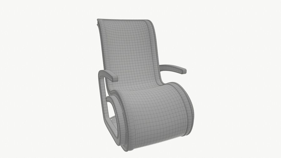 Chair_001 royalty-free 3d model - Preview no. 20