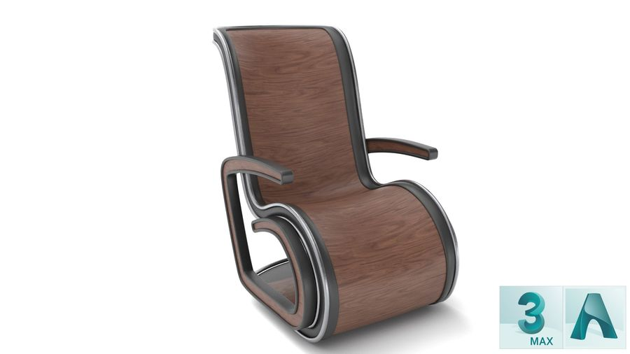 Chair_001 royalty-free 3d model - Preview no. 2