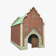 City Gate 3d model