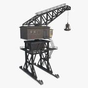 Dock Crane(1) 3d model