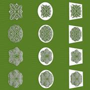 Mandala Frames Vol 11 3d model