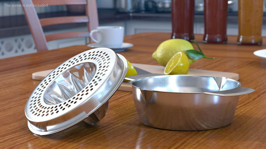 Citrus Juicer royalty-free 3d model - Preview no. 3