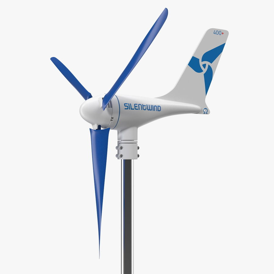 Silentwind 400 Marine Windgenerator royalty-free 3d model - Preview no. 1