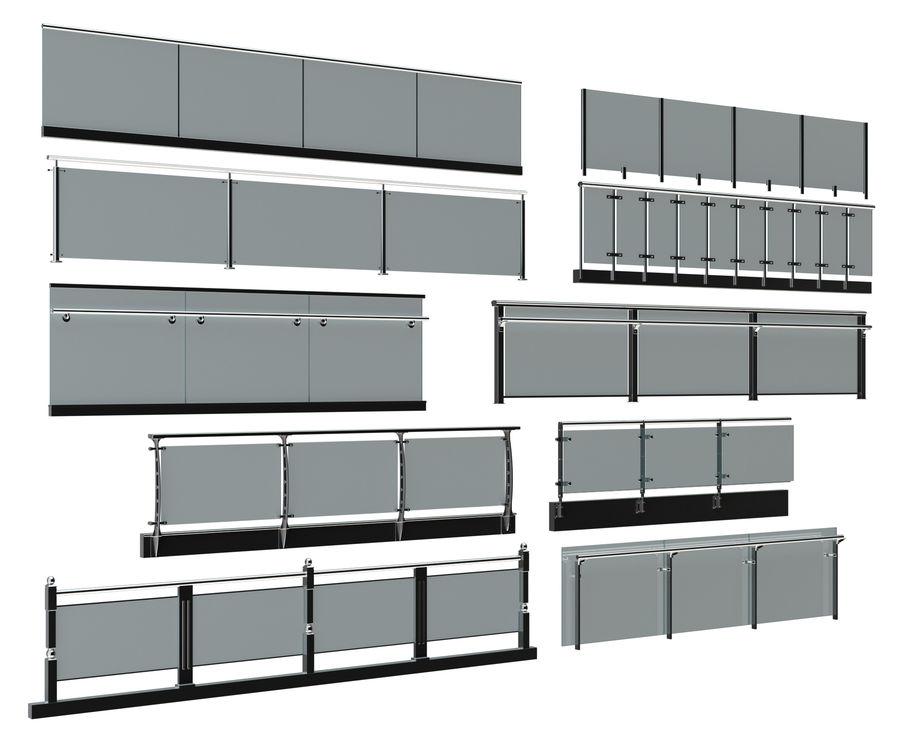 clôture royalty-free 3d model - Preview no. 2