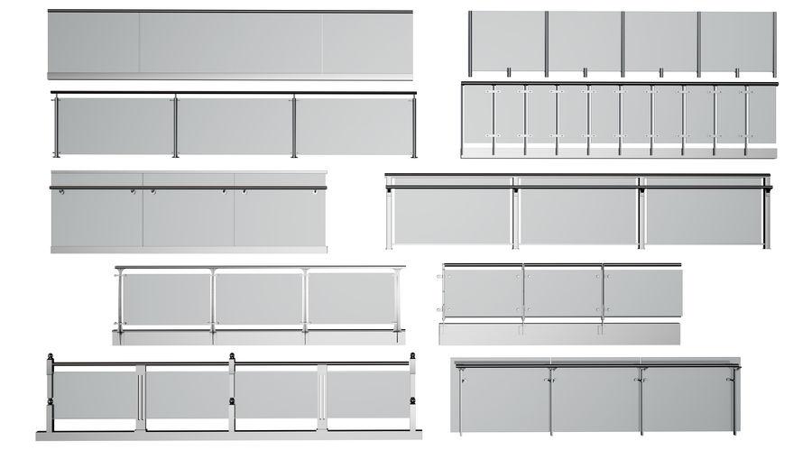 clôture royalty-free 3d model - Preview no. 1