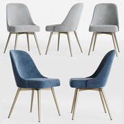 Mid Century Swivel Office Chair 3d model