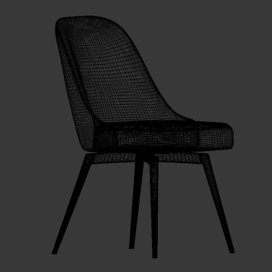 Mid Century Swivel Office Chair 3d Model 10 Obj Max Unknown Free3d