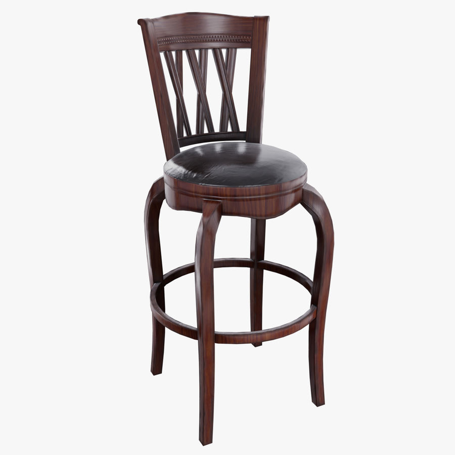 Bar Chair royalty-free 3d model - Preview no. 1