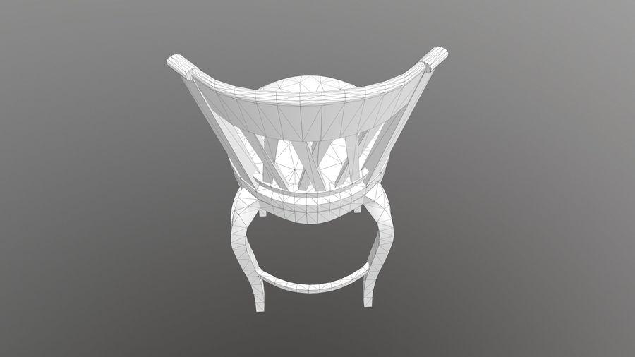 바 의자 royalty-free 3d model - Preview no. 13