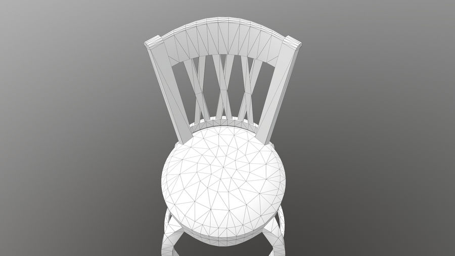 Bar Chair royalty-free 3d model - Preview no. 14