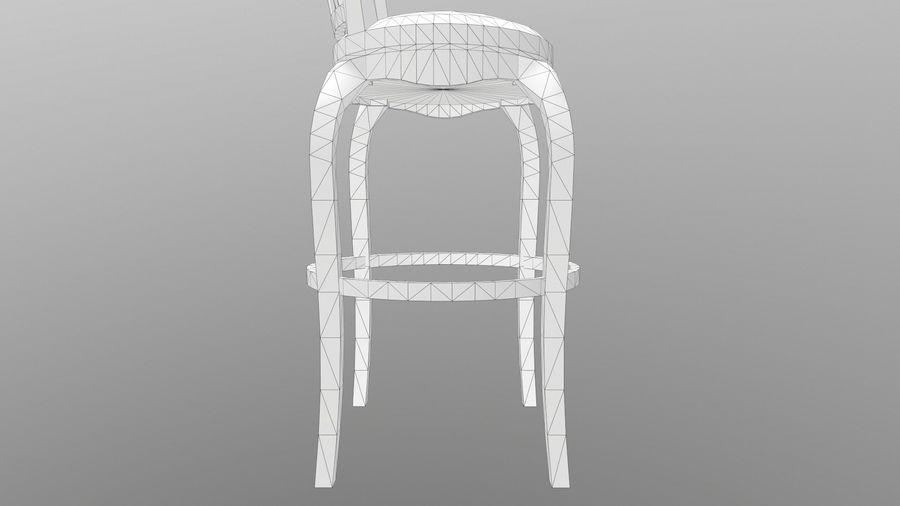 바 의자 royalty-free 3d model - Preview no. 16