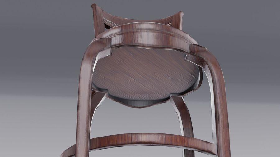 바 의자 royalty-free 3d model - Preview no. 9