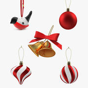 Christmas Decoration Toy Collection 2 3d model