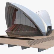 Здание концертного зала 3d model