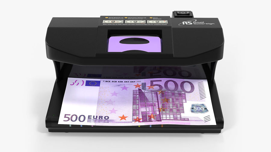 Currency Detectors Collection royalty-free 3d model - Preview no. 2