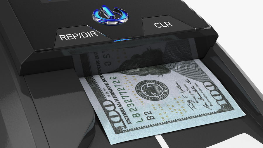 Currency Detectors Collection royalty-free 3d model - Preview no. 13
