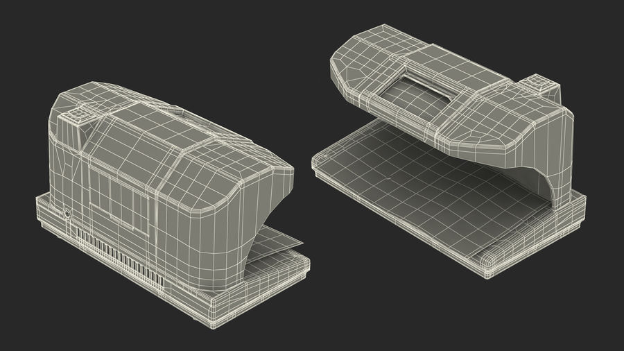 Currency Detectors Collection royalty-free 3d model - Preview no. 18