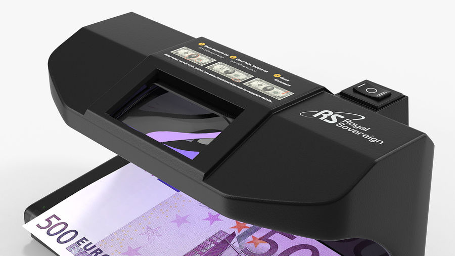 Currency Detectors Collection royalty-free 3d model - Preview no. 8