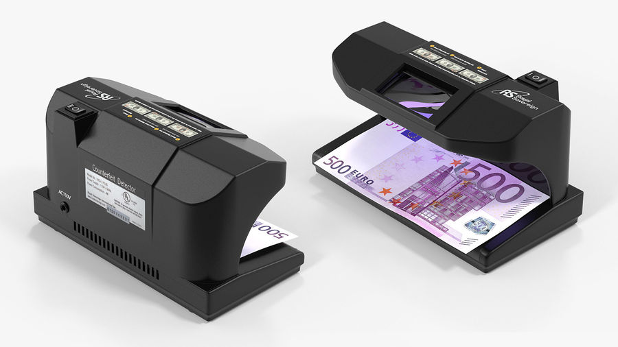 Currency Detectors Collection royalty-free 3d model - Preview no. 5
