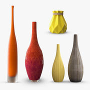 Decor Vase Collection 3d model
