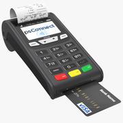 Credit Card Machine 3d model