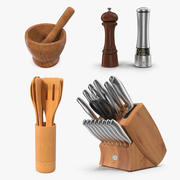 Kitchenware Collection 3d model