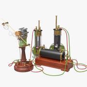 Early Electro Magnetic Demonstration Set 1 3d model