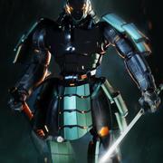 Samurai Robot asset 3d model