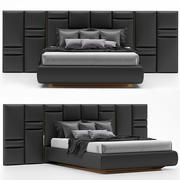 Luxxu Chateau Bed Design Luxus-Stil 3d model