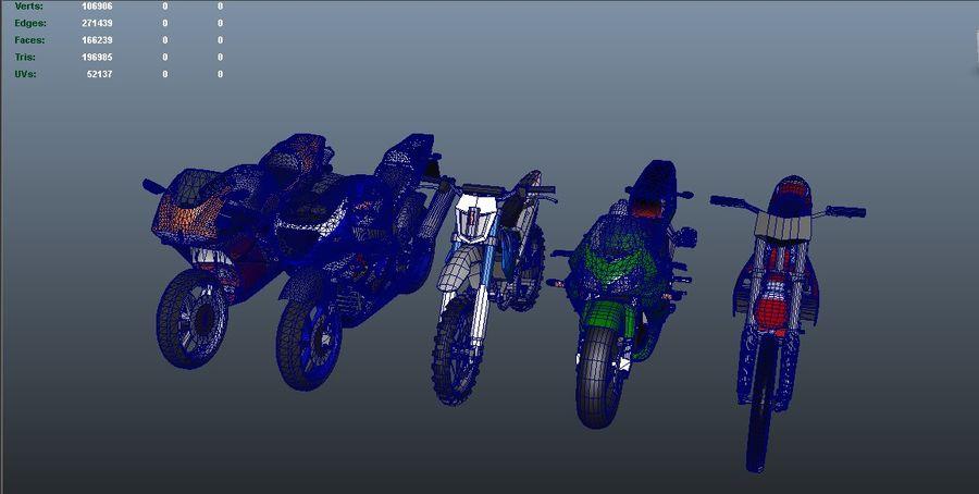 5'li Spor Bisiklet Paketi royalty-free 3d model - Preview no. 34