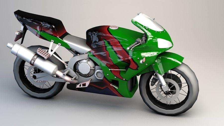 5'li Spor Bisiklet Paketi royalty-free 3d model - Preview no. 3