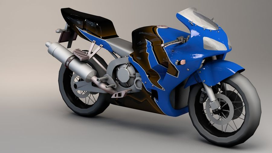 5'li Spor Bisiklet Paketi royalty-free 3d model - Preview no. 6