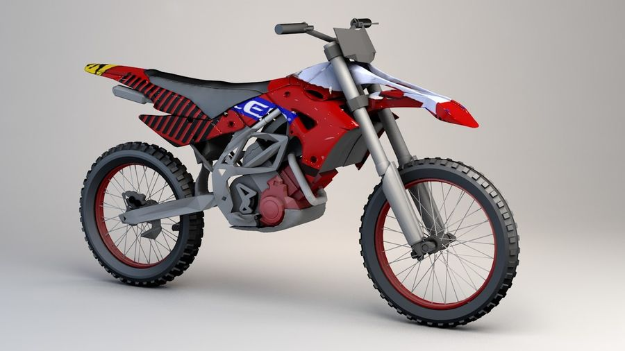 5'li Spor Bisiklet Paketi royalty-free 3d model - Preview no. 8