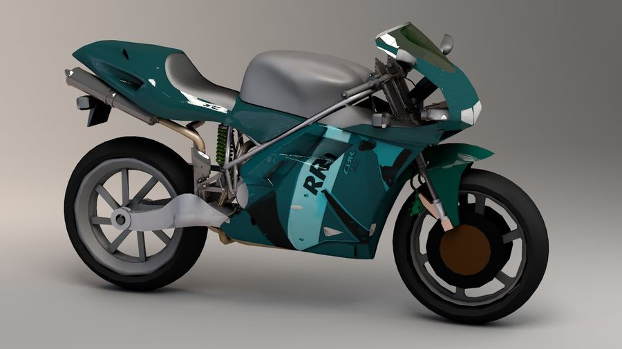5'li Spor Bisiklet Paketi royalty-free 3d model - Preview no. 32