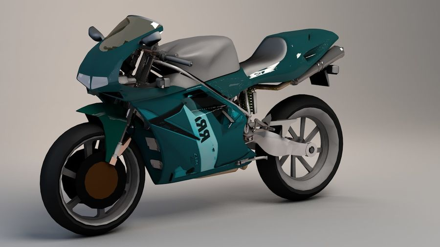 5'li Spor Bisiklet Paketi royalty-free 3d model - Preview no. 31